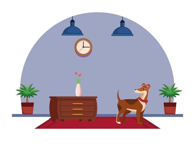 Animaux domestiques et icône de l'animal