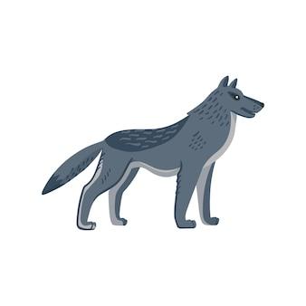 Animaux éteints grand loup
