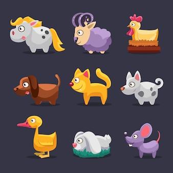 Des animaux de la ferme