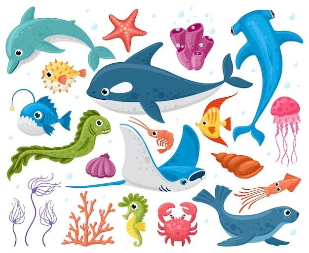 Animaux de l'océan