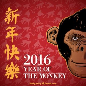 Année du singe nouvelle année