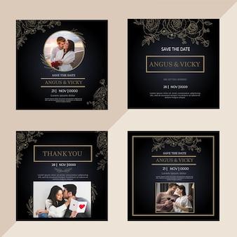 Anniversaire de mariage instagram posts