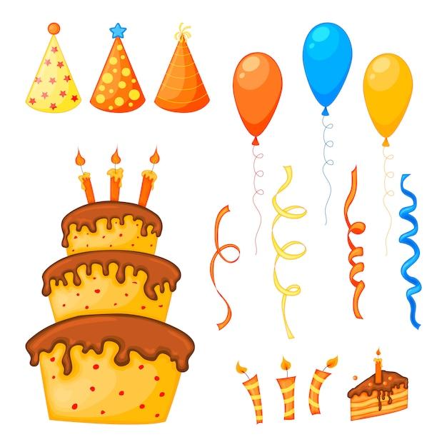 Anniversaire sertie de gâteaux et de coffrets cadeaux.