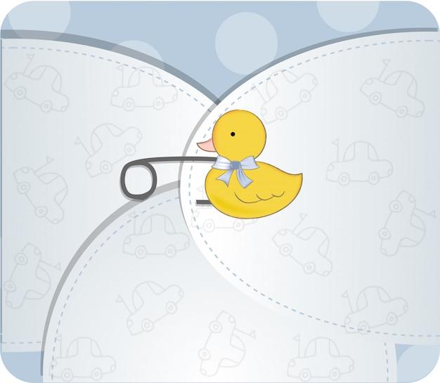 Annonce de douche de bébé