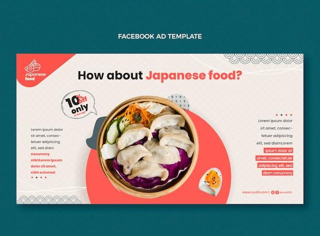 Annonce facebook design plat