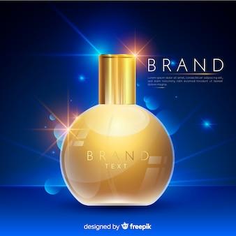 Annonce de parfum de luxe