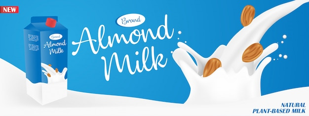 Annonces au lait d'amande