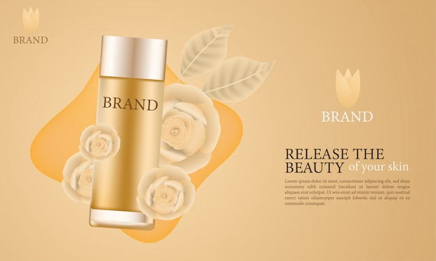 Annonces de soins cosmétiques esthétiques