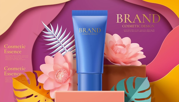 Annonces de tubes cosmétiques