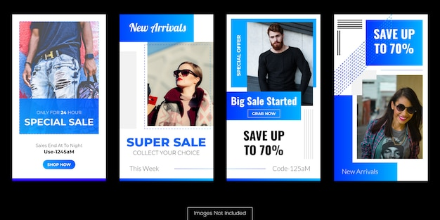 Annonces de vente de produits pour le marketing en ligne