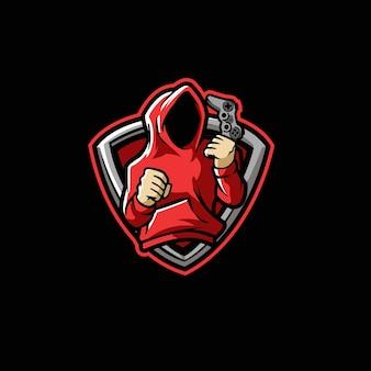 Anonim gamer controller anonyme, gamer, gaming, digital, jeu, homme, technologie,