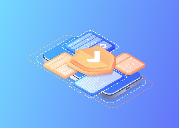 Antivirus informatique en ligne serveur de sauvegarde de la base de données internet équipement de programmation contrôle d'accès limité paramètres de confidentialité des passes base de données avec serveur cloud développement d'applicationsbannière web