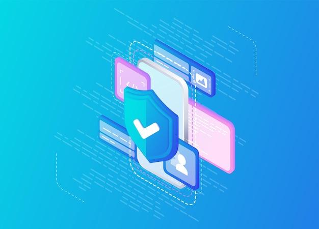 Antivirusinformatique en ligne serveur de sauvegarde de la base de données internet équipement de programmation accès limité