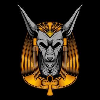 Anubis vector illustration