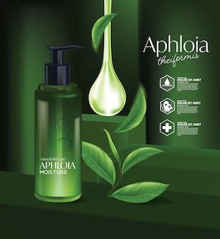 Aphloia theiformis thé malgache cosmétique naturelle de soins de la peau