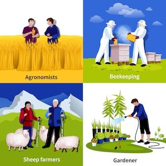 Apiculteurs jardiniers