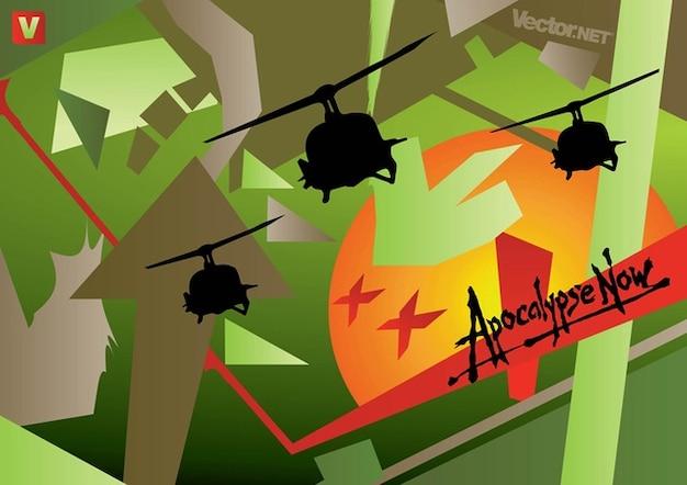 Apocalypse now vectoriel