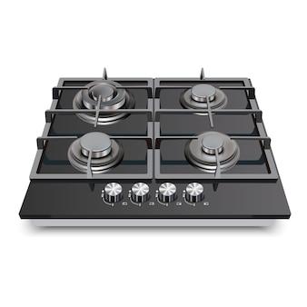 Appareil de cuisine table de cuisson au gaz