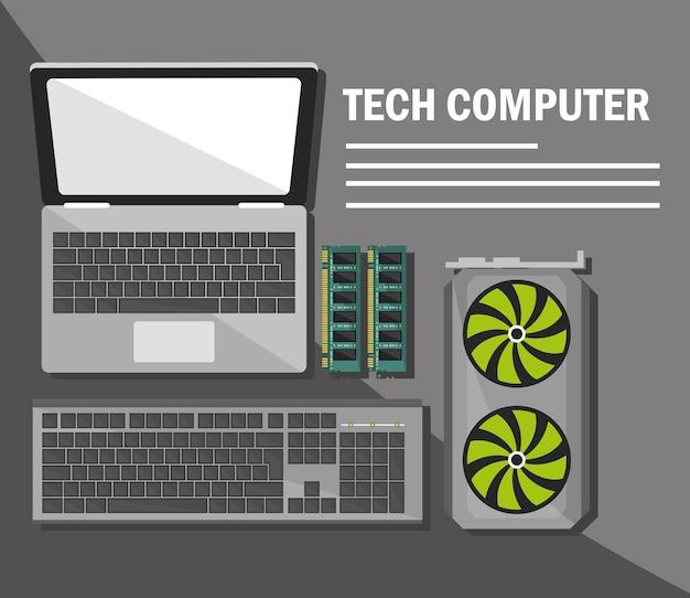 Appareils informatiques techniques