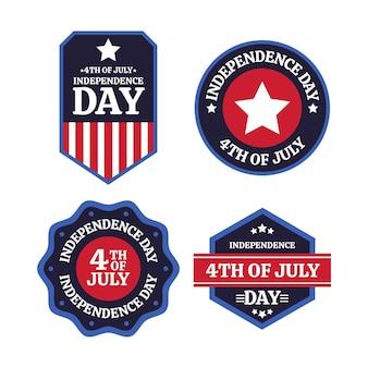 Appartement 4 juillet - collection badgde de la fête de l'indépendance