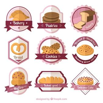 Appartement badges de boulangerie pack