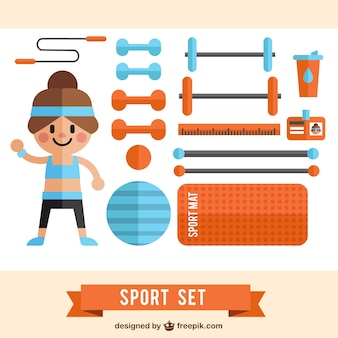 Appartement outils pack sport