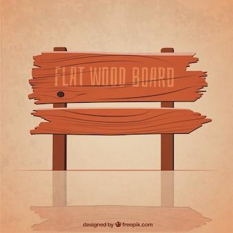 Appartement planche de bois