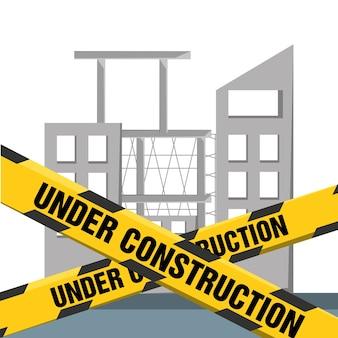Appartement sous le concept de construction