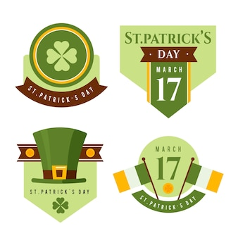 Appartement st. collection de badges patrick's day