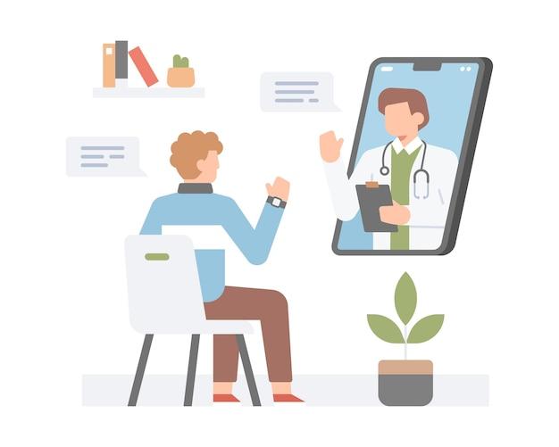 Appel vidéo à l'aide d'un smartphone