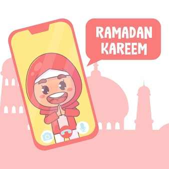 Appel vidéo ramadan kareem