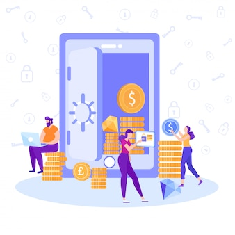 Application bancaire en ligne pour une annonce à devise de contrôle