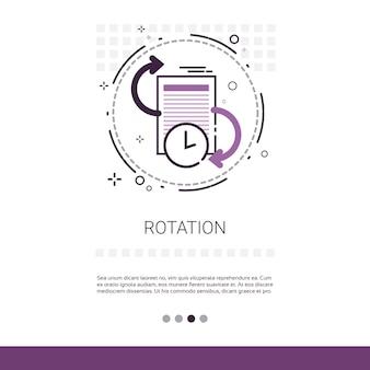 Application de mise à jour de rotation