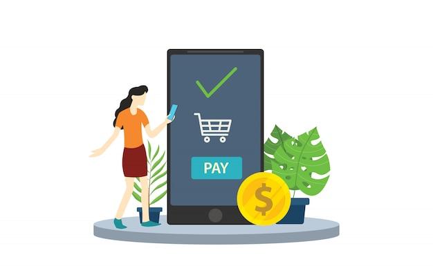 Application de paiement mobile