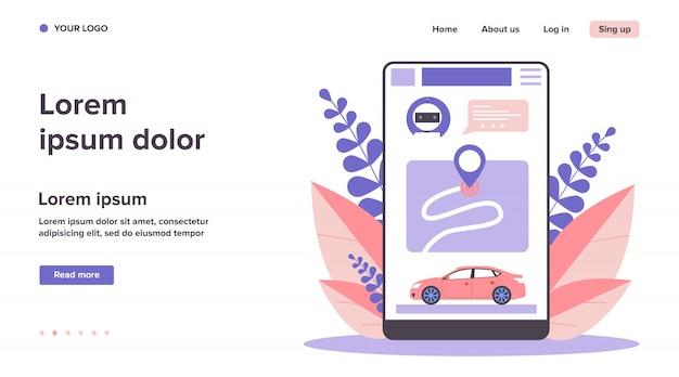 Application de partage de voiture