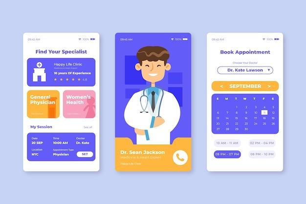 Application de réservation médicale