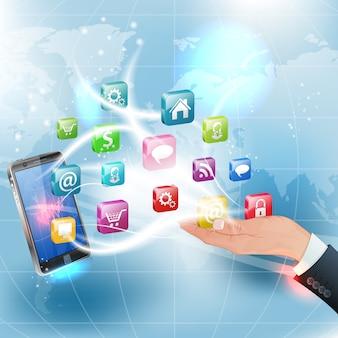 Applications pour plates-formes mobiles