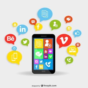 Applications smartphones notion