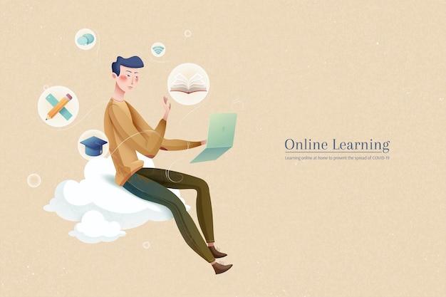 Apprendre en ligne pour une expérience en toute sécurité
