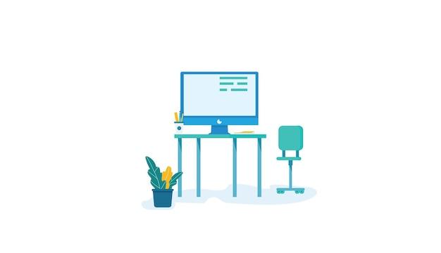 Apprendre à partir de la bannière web à la maison. apprendre à partir de la bannière web à la maison. conception de formation en ligne d'image vectorielle.