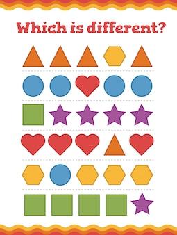 Apprenez les formes et les figures géométriques.