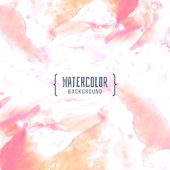 Aquarelle abstrait coloré