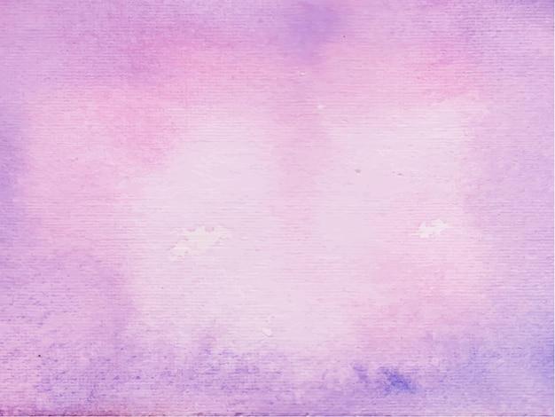 Aquarelle abstraite pourpre