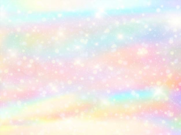 Aquarelle arc en ciel bokeh fond