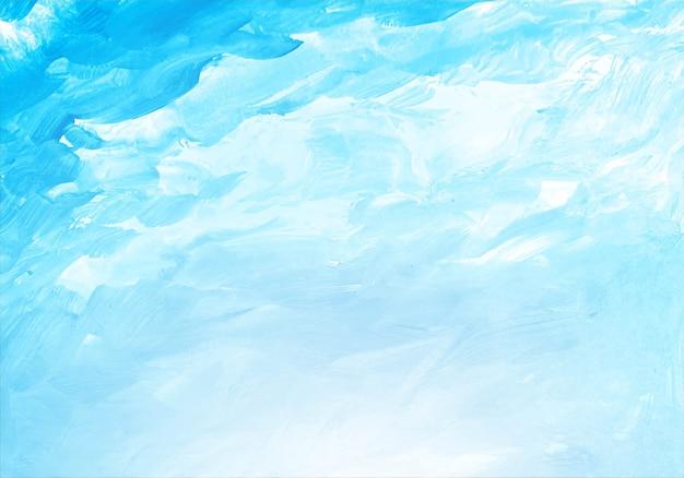 Aquarelle bleue douce abstraite