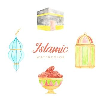 Aquarelle islamique