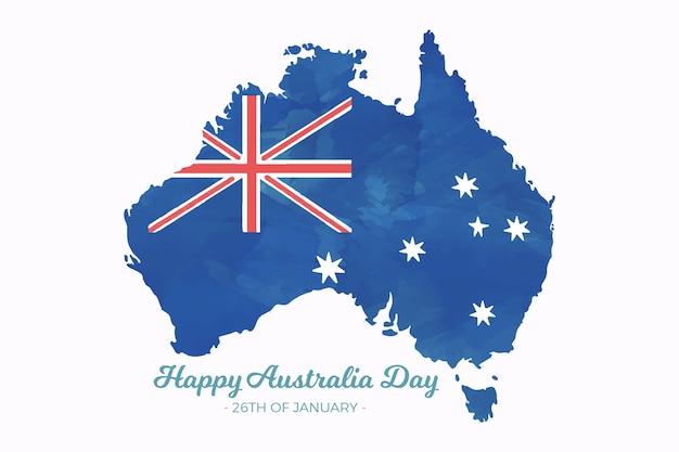 Aquarelle jour australie