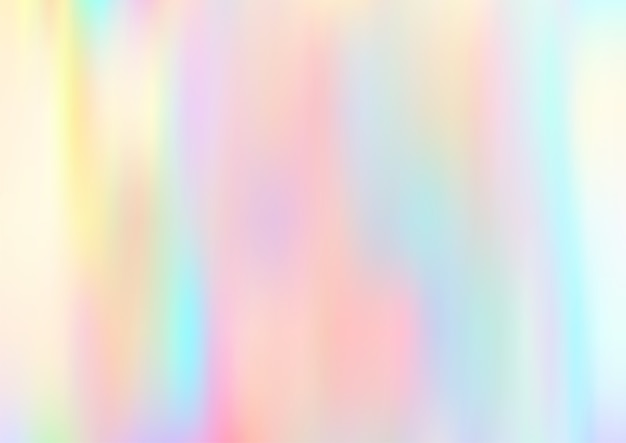 Aquarelle lumineuse colorée