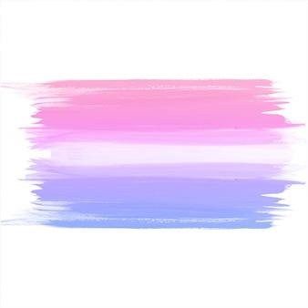 Aquarelle main colorée dessiner fond de coup