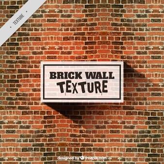 Aquarelle mur de briques de fond